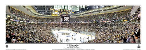 (Boston Bruins 2011 Stanley Cup Final Game 3 Panoramic Poster #4025)