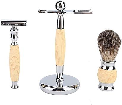 Afeitadora clásica, Conjunto de afeitadora clásica de los hombres ...