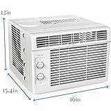 hOmeLabs Window Air Conditioner - 5000 BTU AC Unit 7 Speed Fan