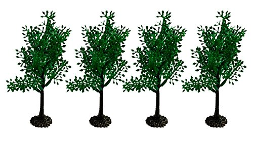 CakeSupplyShop Elegant Tree Cake and Cupcake Toppers count of 12 (Topper Plastic Tree)