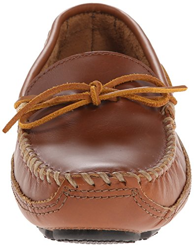 Mocassini Moc Uomo Chestnut Bottom Driving Minnetonka Cowhide Marrone Double HwRC7