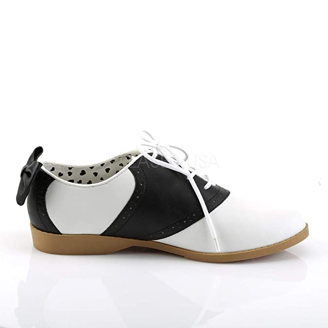 Vintage Style Shoes, Vintage Inspired Shoes Funtasma Womens Sad53/Bwpu Slip-On Loafer $43.95 AT vintagedancer.com