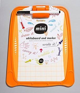 Scribble Mini - Pizarra blanca para niños (dos lados ...