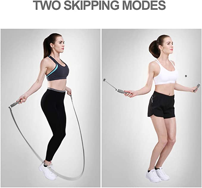 Counting Rope Skipping Test Skipping Rope Fitness Kalorien Springseil Train B6D2