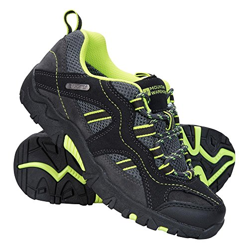 Price comparison product image Mountain Warehouse Stampede Kids Walking Shoes -Childrens Summer Shoes Lime 3 Child US