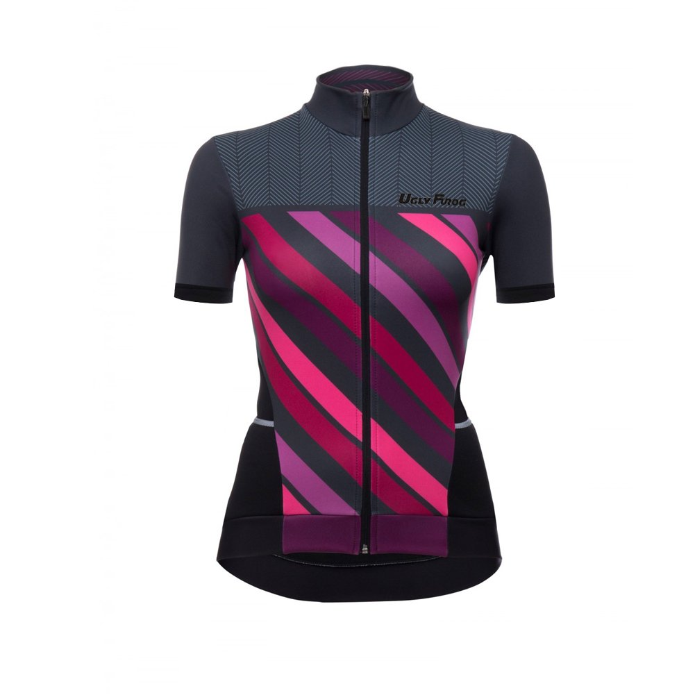 Uglyfrog Women Short Sleeve Cycling Jersey Quick Dry Breathable Bike Top DW2