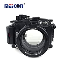 Meikon New Arrival 40M/130FT Diving Camera Waterproof Case for Canon G7X Mark II