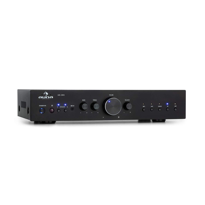 AUNA AV2-CD608BT amplificador estéreo Hifi: Amazon.es: Electrónica