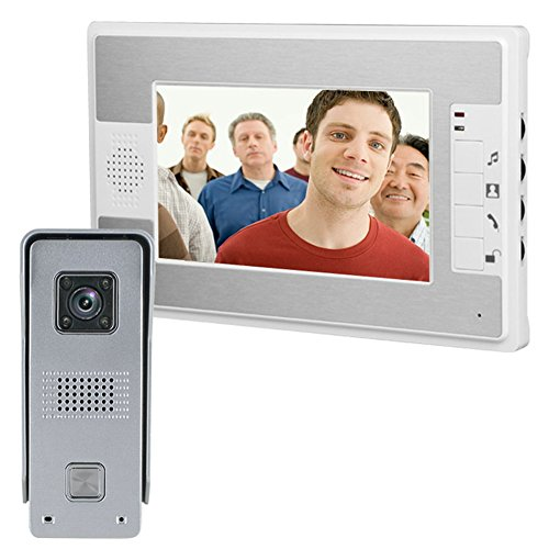 Awakingdemi Wireless Video Doorbell,Peephole Camera ,7 in...