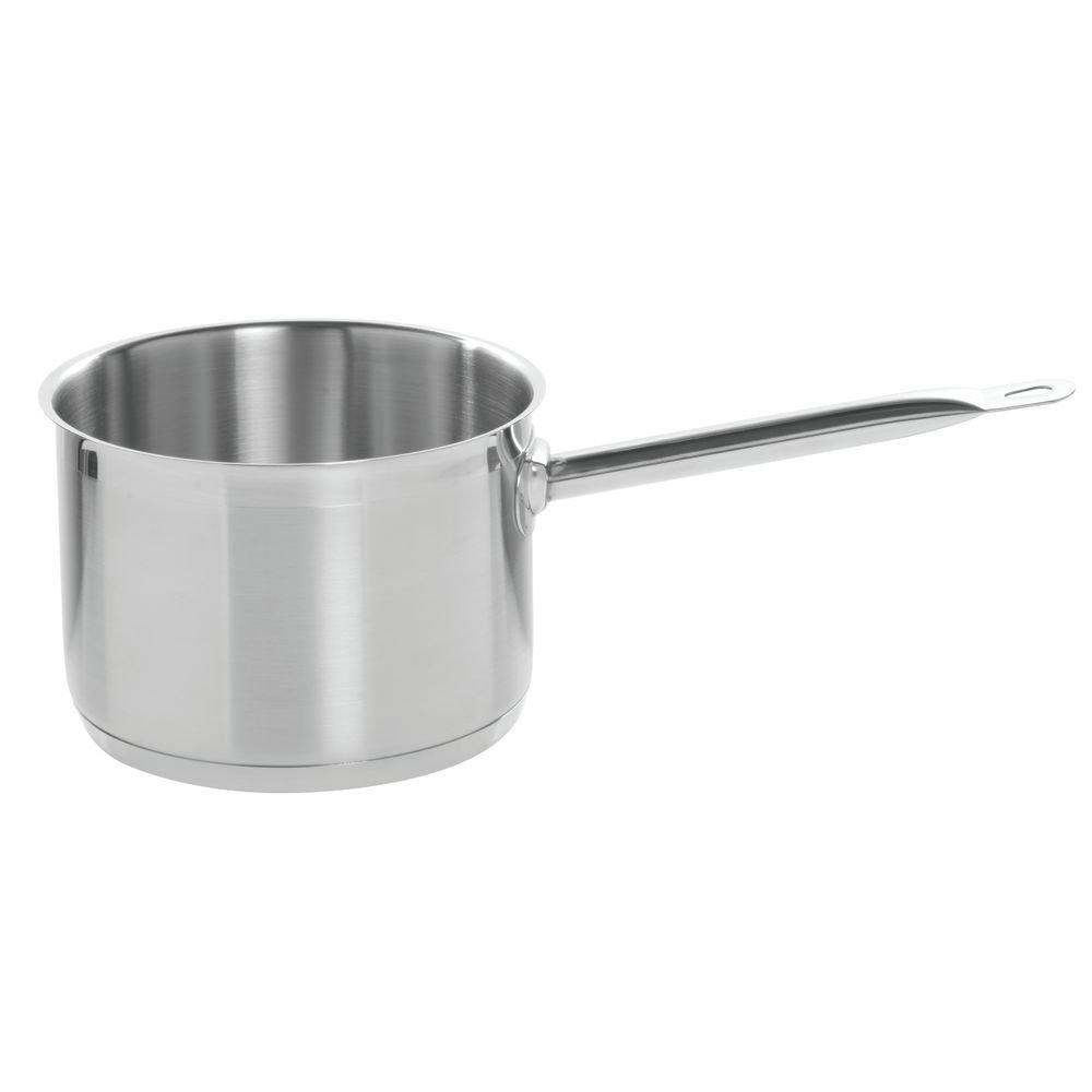 HUBERT Stainless Steel Saucepan 4 1/2 Quart - 8'' Dia x 5 1/2 H