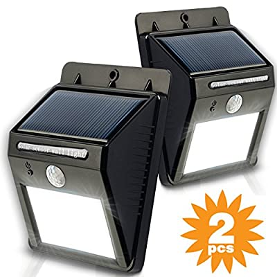 ? Top Rated ? My Solar Led Lights? ? Outstanding Solar Powered LED Lights ? Highly Effective ? Super Bright Solar LED Lights ? Amazing Outdoor Lighting Solution ? Great for Walkways , Driveways, Porches, Decks, Gardens and Patios - 192.2