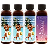 Belloccio Sunless Tanning Solution Variety Pack with 4 Different Professional Belloccio Solutions in 4 Ounce Bottles
