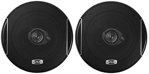 Sound Storm SLQ352 250 Watt (Per Pair), 5.25 Inch, Full Range, 3 Way Car Speakers (Sold in Pairs)