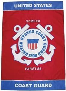In The Breeze 28-Inch U.S. Coast Guard by 40-Inch