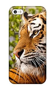 Hot Iphone 5/5s Hybrid Tpu Case Cover Silicon Bumper Tiger 7993417K73711385