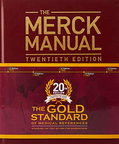 Pdf Medical Books The Merck Manual of Diagnosis and Therapy