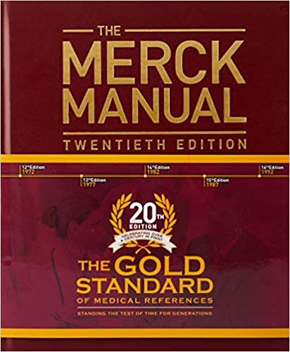 Merck Medical Book