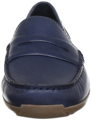 Clarks Hammond Way 20353835 Damen Slipper Blau (Navy Leather)