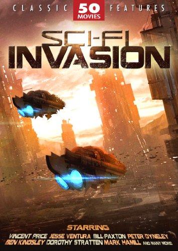 Sci-Fi Invasion – 50 Movie Set