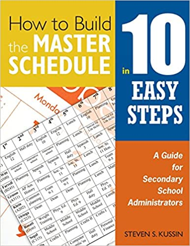 how to build the master schedule in 10 easy steps a guide for