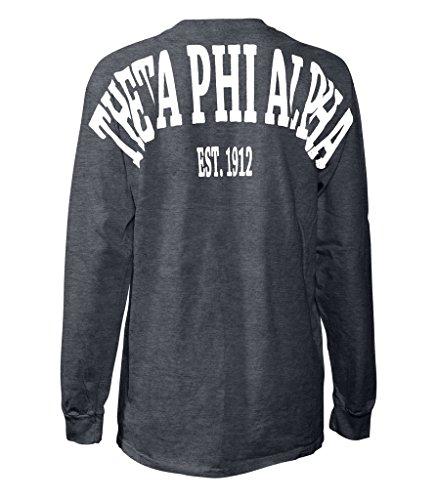 Theta Sigma Phi (Theta Phi Alpha Stadium Shirt DrkHeather Medium)
