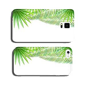 Tropical Landscape Background cell phone cover case Samsung S6