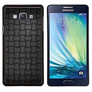 LECELL--Funda protectora / Cubierta / Piel For Samsung Galaxy A7 A7000 -- Gris Patrón --