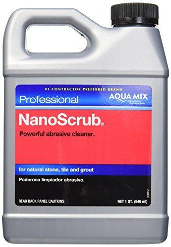 CUSTOM BLDG PRODUCTS AMNSQT Quart Aqua Mix Nano Scrub by Custom