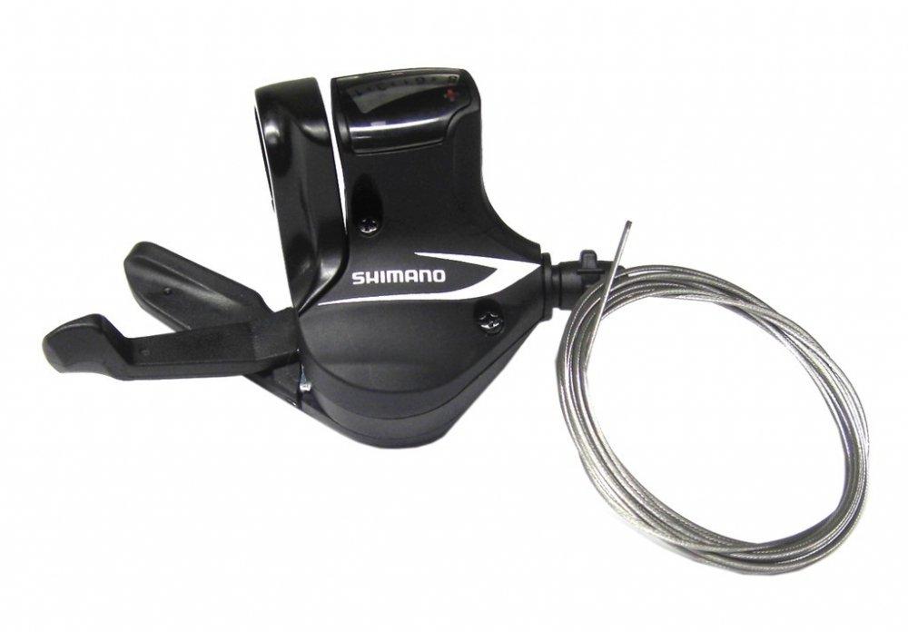 Palanca de cambios derecha Shimano Acera SL-M360 8 velocidades negra