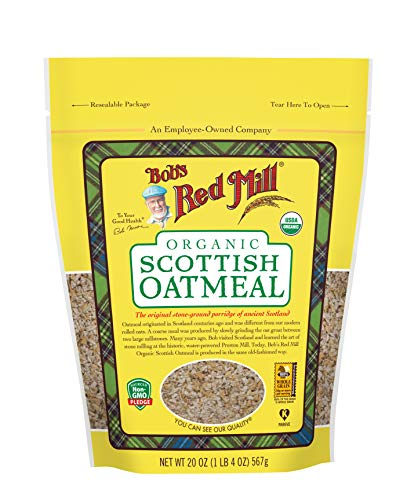 Bob's Red Mill Organic Scottish Oatmeal, 20 ()
