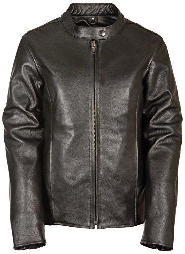 Milwaukee Women's Scooter Jacket (Black, X-Small) (Antiqu...