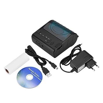 Tonysa Portátil Mini Impresora Térmica Inalámbrica Bluetooth ...