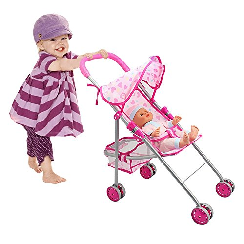 Baby Born Twin Dolls And Stroller - 4