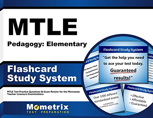 MTLE Pedagogy: Elementary Flashcard Study System: MTLE Test Practice Questions & Exam Review for the Minnesota Teacher Licensure Examinations (Cards)