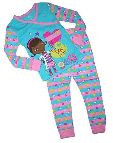 McStuffins Little Girls Kimono Pajama