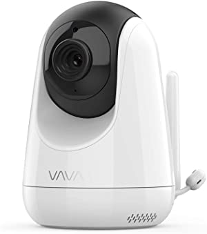 Additional Camera Unit for VAVA Baby Monitor, 720p HD Resolution, Scan View