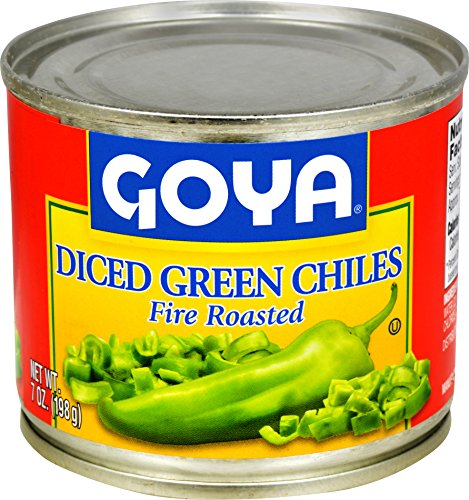 Goya Foods Diced Green Chiles, 7 Ounce (Pack of 24)