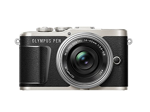 Olympus PEN E-PL9 kit with 14-42mm EZ Lens, Camera Bag, and Memory Card, Onyx (Olympus 16 Gb Kit)