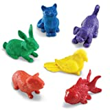 Learning Resources Domestic Pets Counters, Educational Counting and Sorting Toy, Set of 72