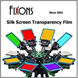 Waterproof Inkjet Screenprinting Film, Silkscreen Film 8.5 x 11 (50 Sheets)