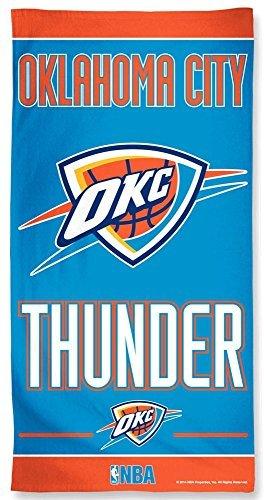 Oklahoma City Thunder NBA OKC 30 X 60 Inch Beach Towel by McArthur