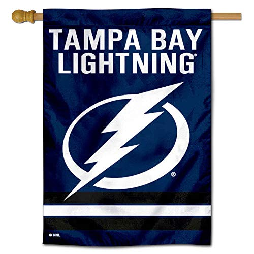 (WinCraft Tampa Bay Lightning Two Sided House Flag)