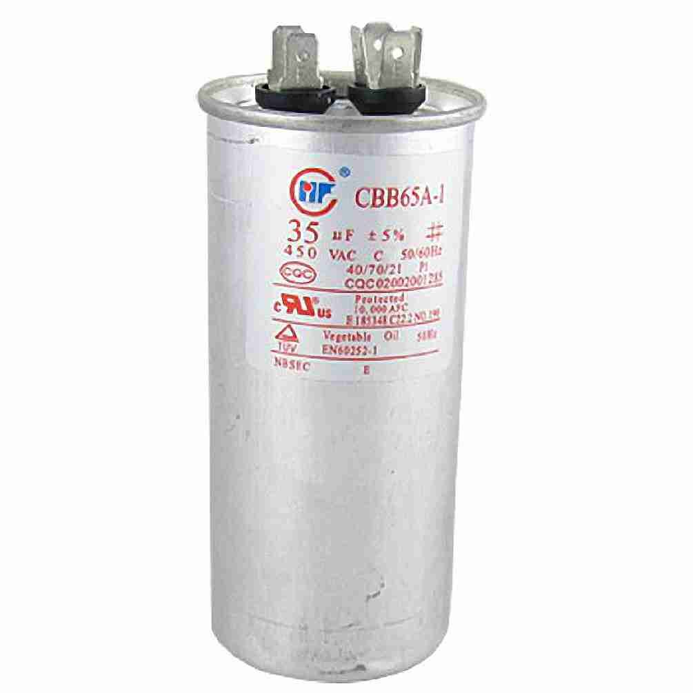 Air Conditioner AC 450V 35uF 50/60Hz Motor Run Capacitor CBB65A-1 Move&Moving