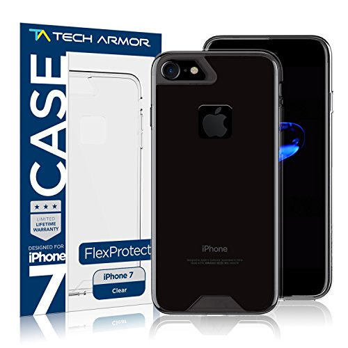 Tech Armor Apple iPhone 7 FlexProtect Case Perfect Fit, Flexible Protection, Shock...