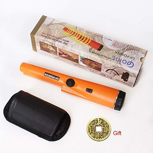 HAOMAO k Orange stud finder High Sensitive GP-pointer Metal Detector Gold Static Alarm Stud Finder Wall Scanner Sensor Multi Function Wood Metal Laser Level Tool Stucco