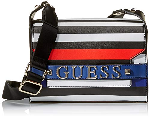 GUESS Felix Stripe Shoulder Bag, One Size