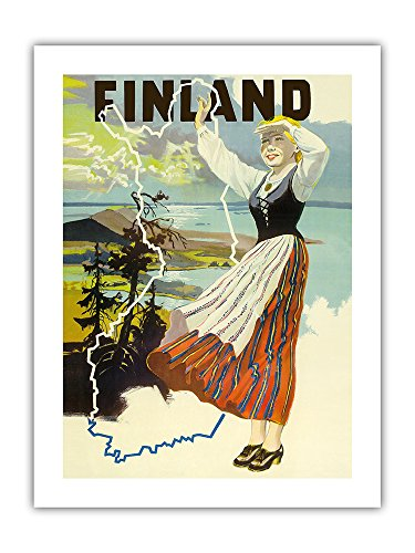 vintage travel posters finland
