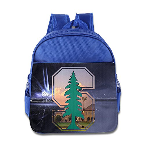 Custom Stanford Tree University  Cute Children Schoolbag For 1-6 Years Old RoyalBlue