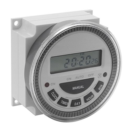 7 Day Programmable Timer Switch Pool Gate Sprinklers