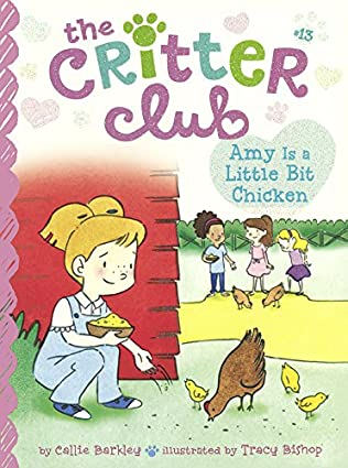 book cover of Amy is a Little Bit Chicken